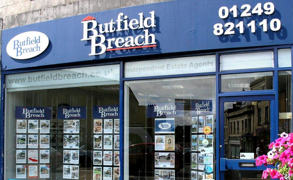 Butfield Breach Shop Front
